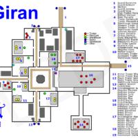 карта Гирана л2