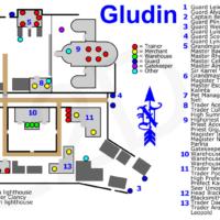карта глудина л2