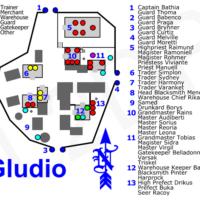 карта глудио л2